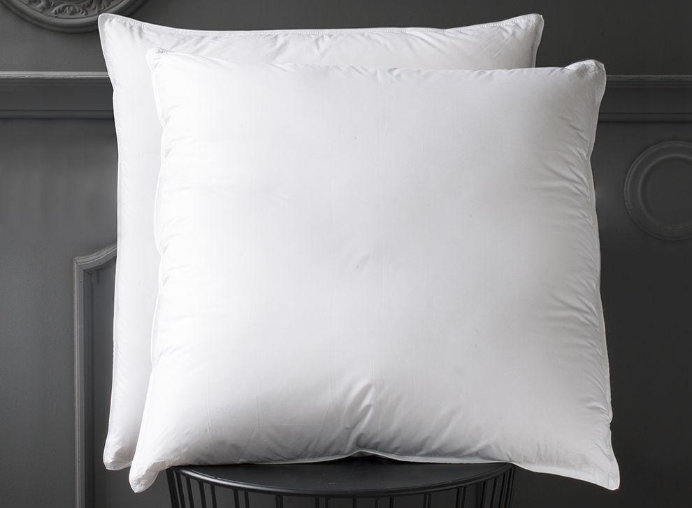 oreiller plume d oie oreillers en plume d oie les 2 acheter linge de maison oreiller plume d. Black Bedroom Furniture Sets. Home Design Ideas