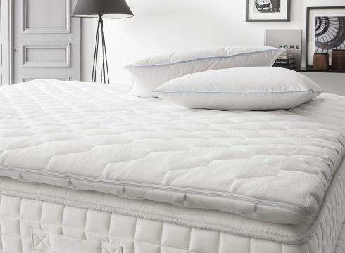 un surmatelas pour am liorer le confort de votre matelas shop trinitas couettes et duvets de luxe. Black Bedroom Furniture Sets. Home Design Ideas